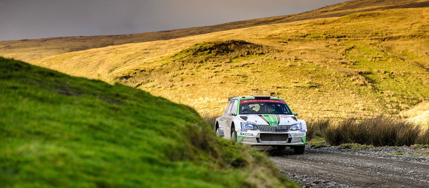 WRC Wales: WRC2 Champion Pontus Tidemand leading in Wales