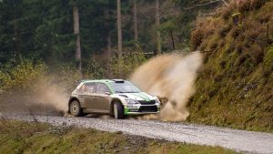 Wales Rally GB 2017 - 2. etapa