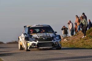 Antonín Tlusťák / Ivo Vybíral, ŠKODA FABIA R5, Tlusťák Racing. Rallye Casinos do Algarve