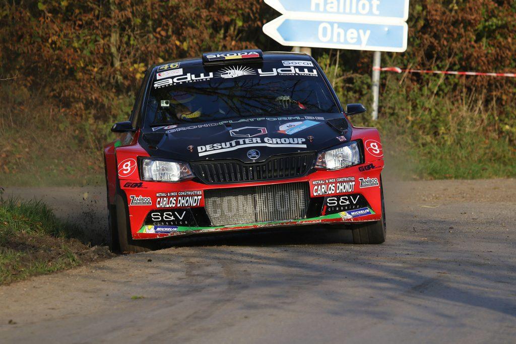 Vincent Verschueren / Veronique Hostens, ŠKODA FABIA R5, Duindistel. Rallye du Condroz-Huy 2017 (Foto: BRC Media)