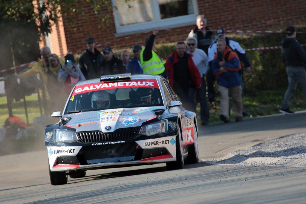 Xavier Bouche / Lorin Jamar, ŠKODA FABIA R5, Bayard. Rallye du Condroz-Huy 2017 (Foto: BRC Media)