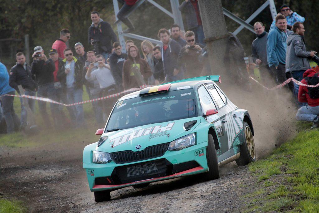 Ghislain de Mevius / Johan Jalet, ŠKODA FABIA R5, Ice Pol Racing Team. Rallye du Condroz-Huy 2017 (Foto: BRC Media)