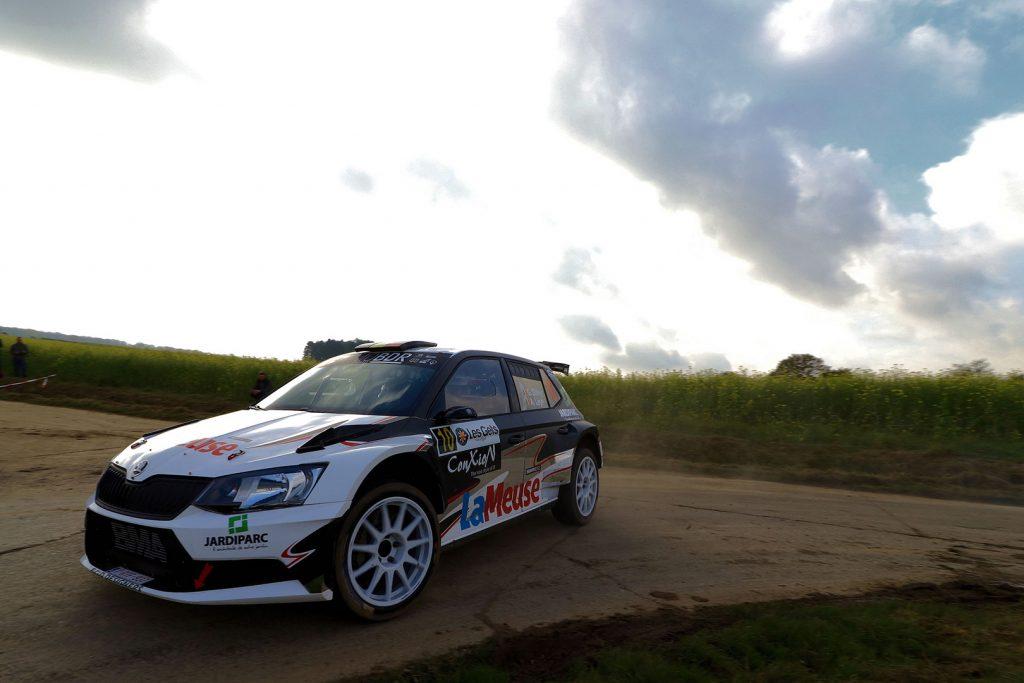 Guillaume Dilley / André Leyh, ŠKODA FABIA R5. Rallye du Condroz-Huy 2017 (Foto: BRC Media)