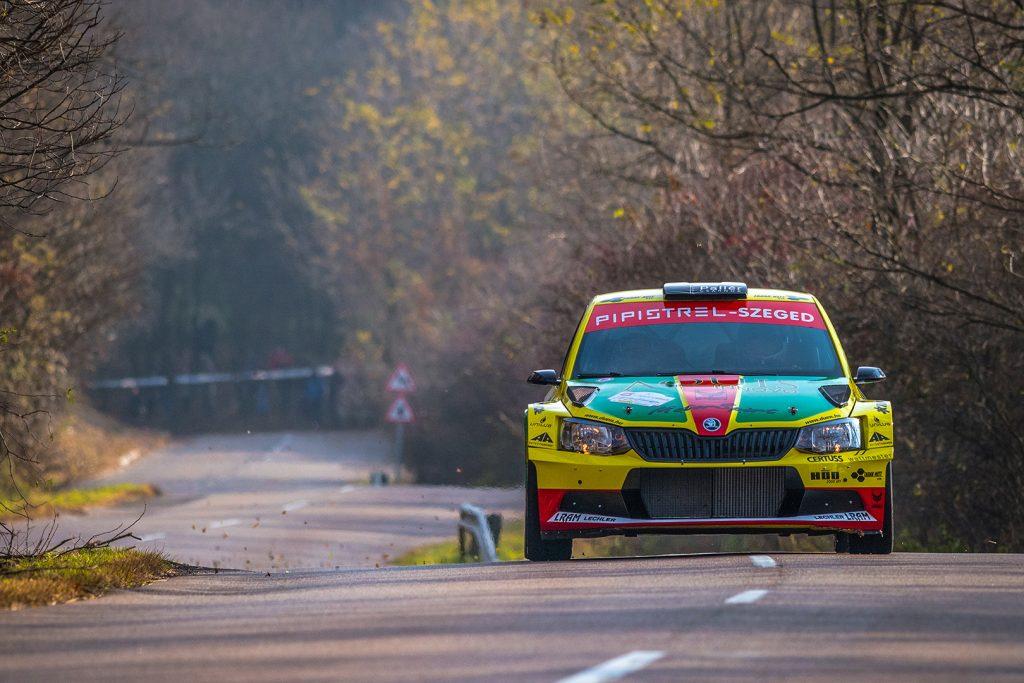 Sándor Ollé / Zsolt Tóth, ŠKODA FABIA R5, TMC Rallysport Kft. Eger Rallye 2017