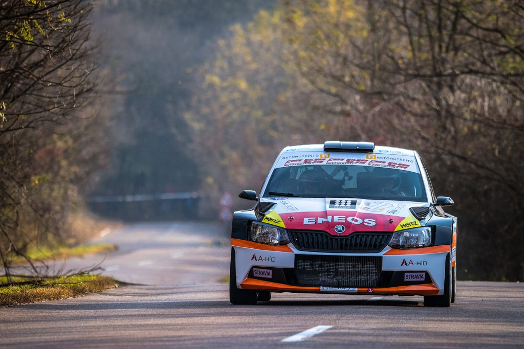 Vilmos Cseh / Gergely Németh, ŠKODA FABIA R5, MAFC AMS. Eger Rallye 2017