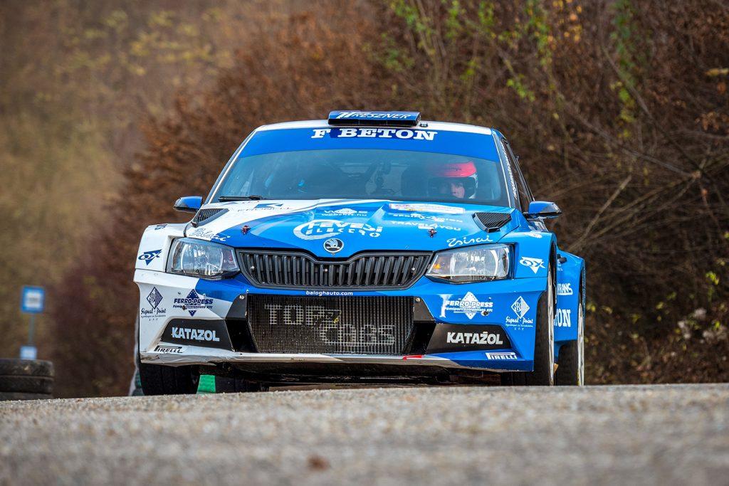Péter Ranga / Tamás Szöke, ŠKODA FABIA R5, Topp Autó 2010 Kft. Eger Rallye 2017
