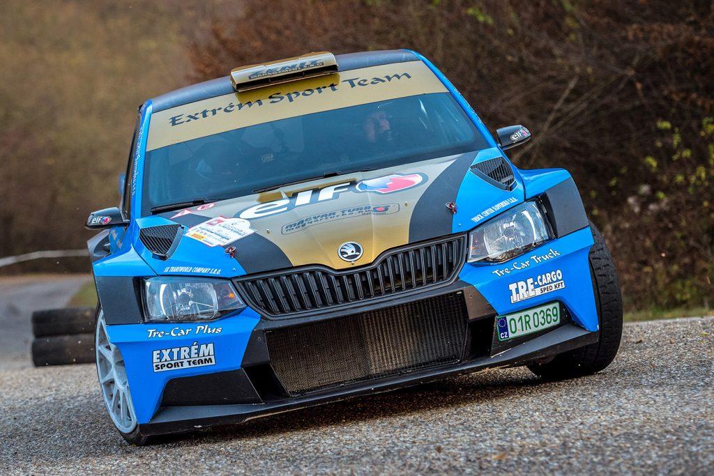 József Trencsényi / Gábor Verba, ŠKODA FABIA R5, Extrém Sport Team Kft. Eger Rallye 2017