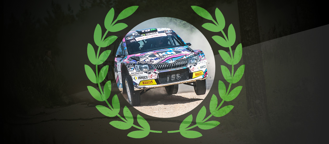 2017 Champs: Kalle Rovanperä retains Latvian Rally Championship in emphatic style