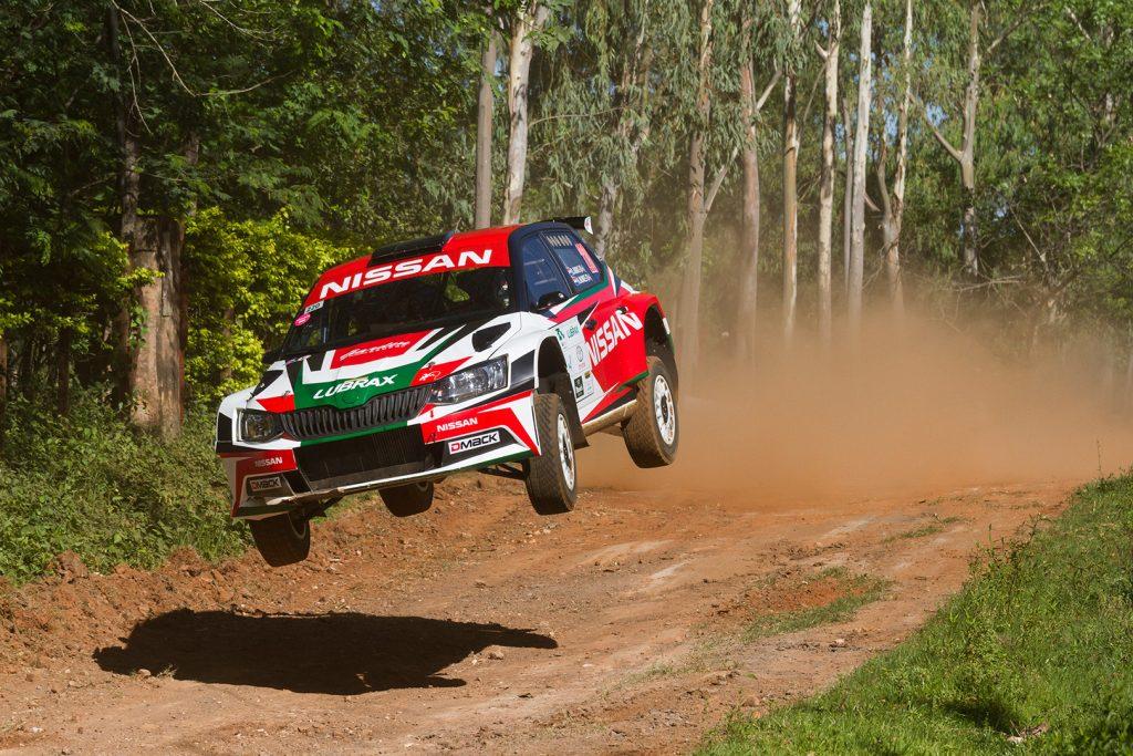 Didier Arias / Hector Nunes, ŠKODA FABIA R5. Rally Carapegua 2017