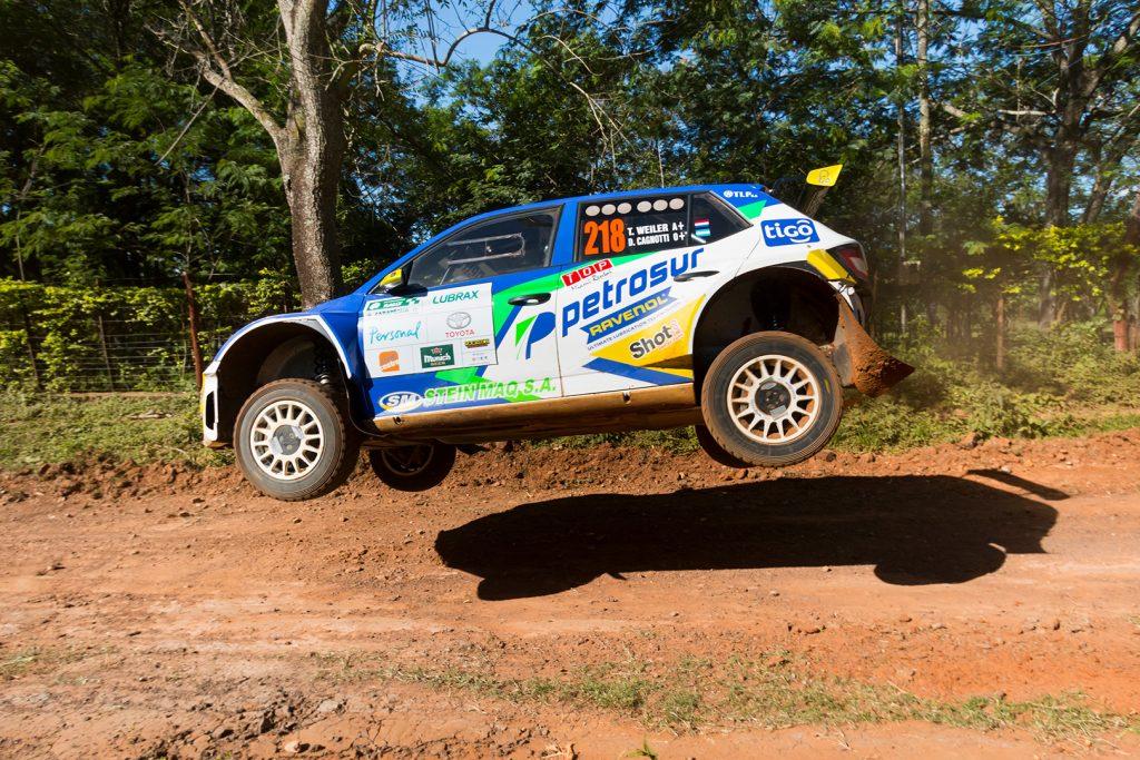 Tiago Weiler / Diego Cagnotti, ŠKODA FABIA R5. Rally Carapegua 2017