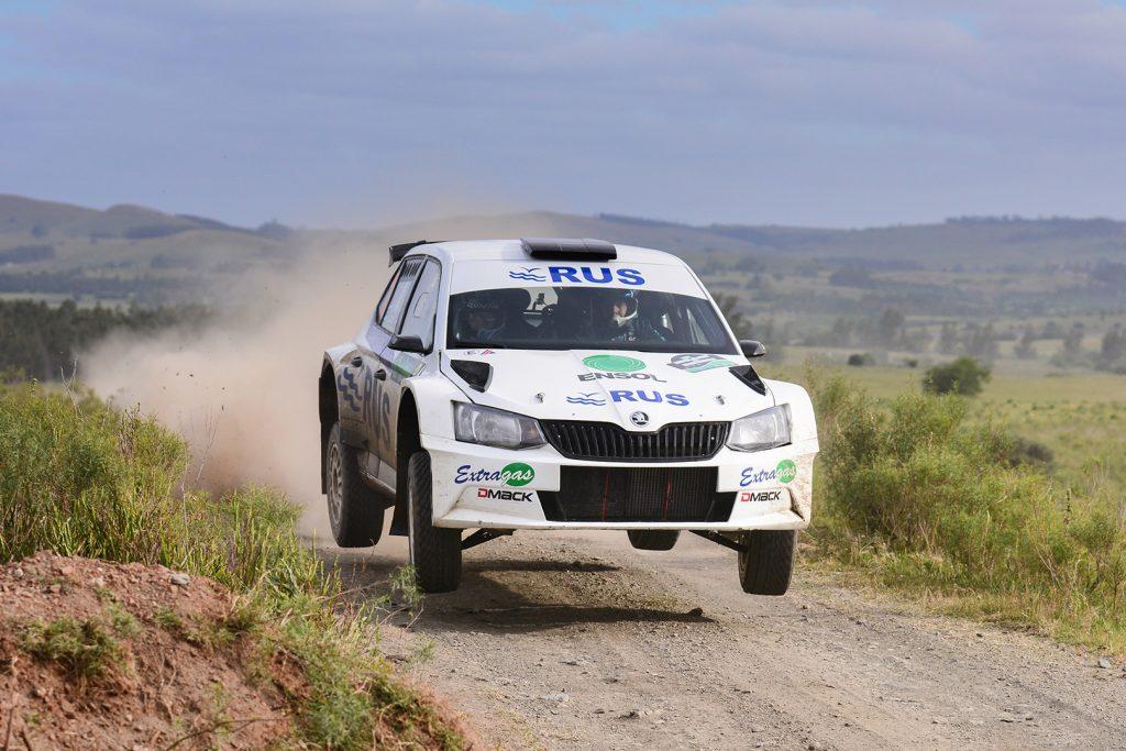 Marcos Ligato / Ruben García, ŠKODA FABIA R5. Rally del Atlántico 2017
