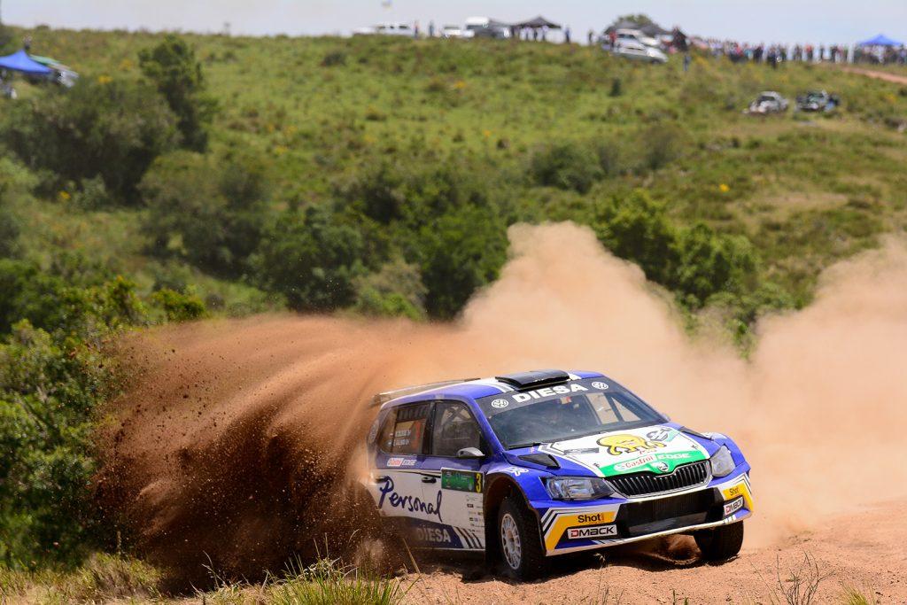 "Miguel ""Miki"" Zaldivar / Edgaro Galino, ŠKODA FABIA R5. Rally del Atlántico 2017"