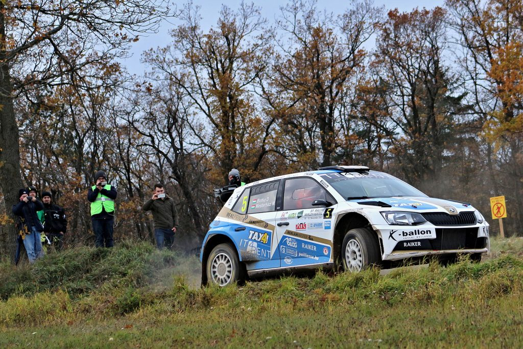 Dávid Botka / Márk Mesterházi, ŠKODA FABIA R5, Botka Rallye Team. Rally Waldviertel 2017