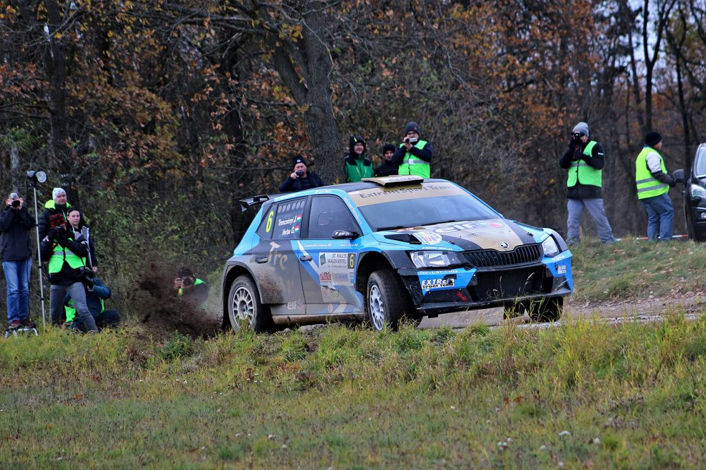 József Trencsényi / Gábor Verba, ŠKODA FABIA R5, Extrém Sport Team Kft. Rally Waldviertel 2017