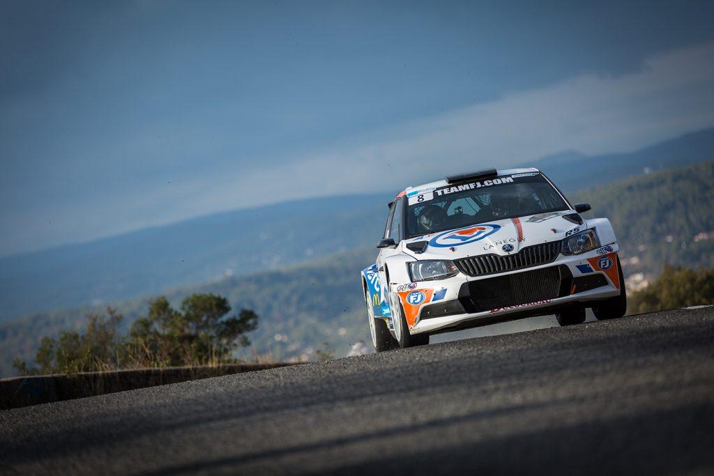 Pierre Roché / Martine Roché, ŠKODA FABIA R5, Team FJ. Rallye du Var 2017