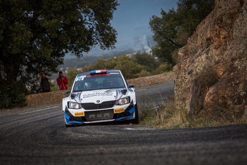 Guillaume Sirot / Emeline Breuil, ŠKODA FABIA R5. Rallye du Var 2017