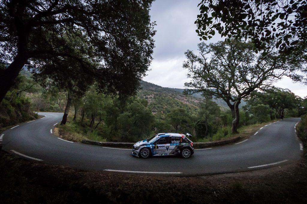 Quentin Giordano / Vincent Landais, ŠKODA FABIA R5, Sébastien Loeb Racing. Rallye du Var 2017
