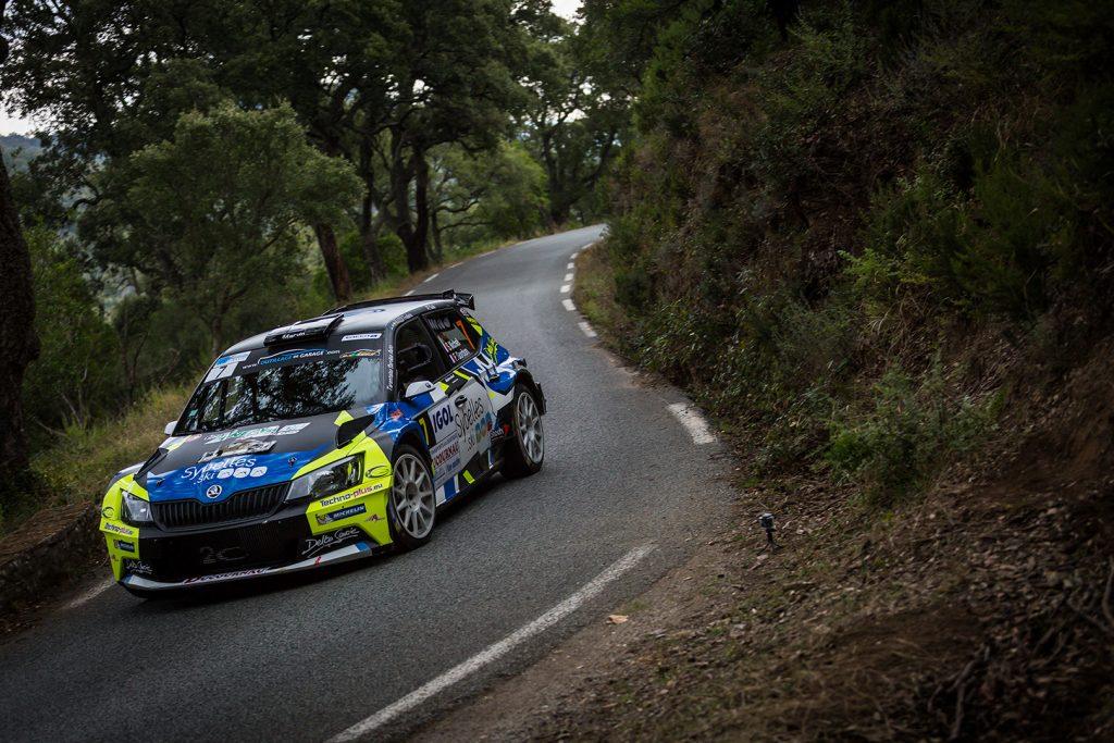 Sylvain Michel / Fabrice Gordon, ŠKODA FABIA R5. Rallye du Var 2017