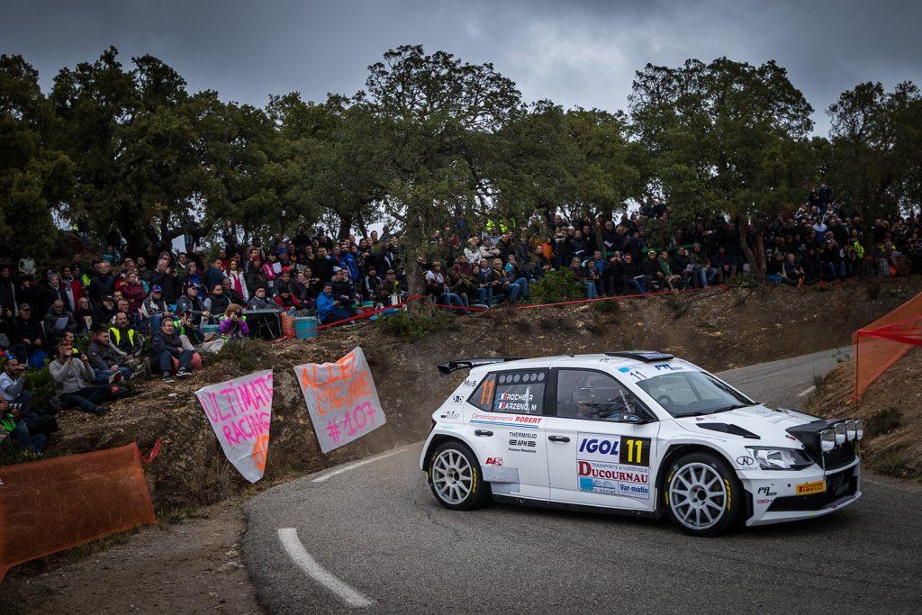 Mathieu Arzeno / Romain Roche, ŠKODA FABIA R5. Rallye du Var 2017