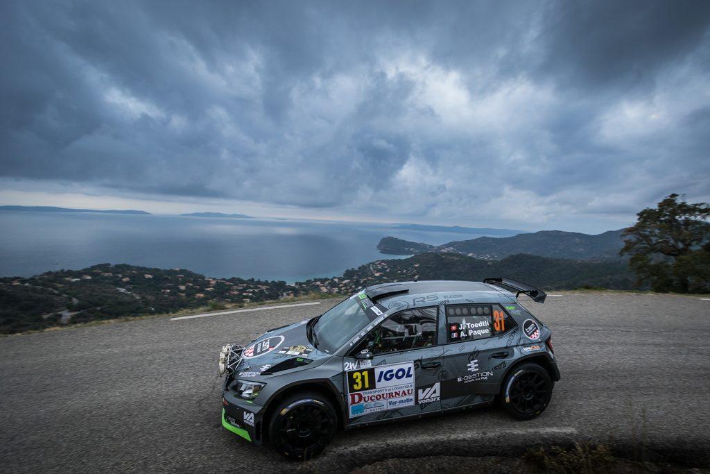 Jérémie Toedtli / Antoine Paque, ŠKODA FABIA R5. Rallye du Var 2017
