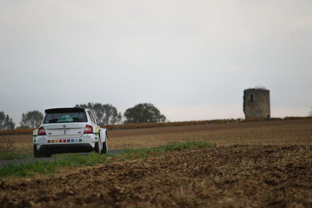 Thierry Chkondali / Aurélia Chevalier, ŠKODA FABIA R5. Rallye National d'Automne La Rochelle 2017