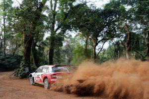 ŠKODA MRF Team at Asia-Pacific Rally Championship 2017
