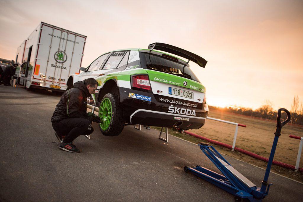 Jan Kopecký, ŠKODA Motorsport. ŠKODA FABIA R5 Taxi 2017