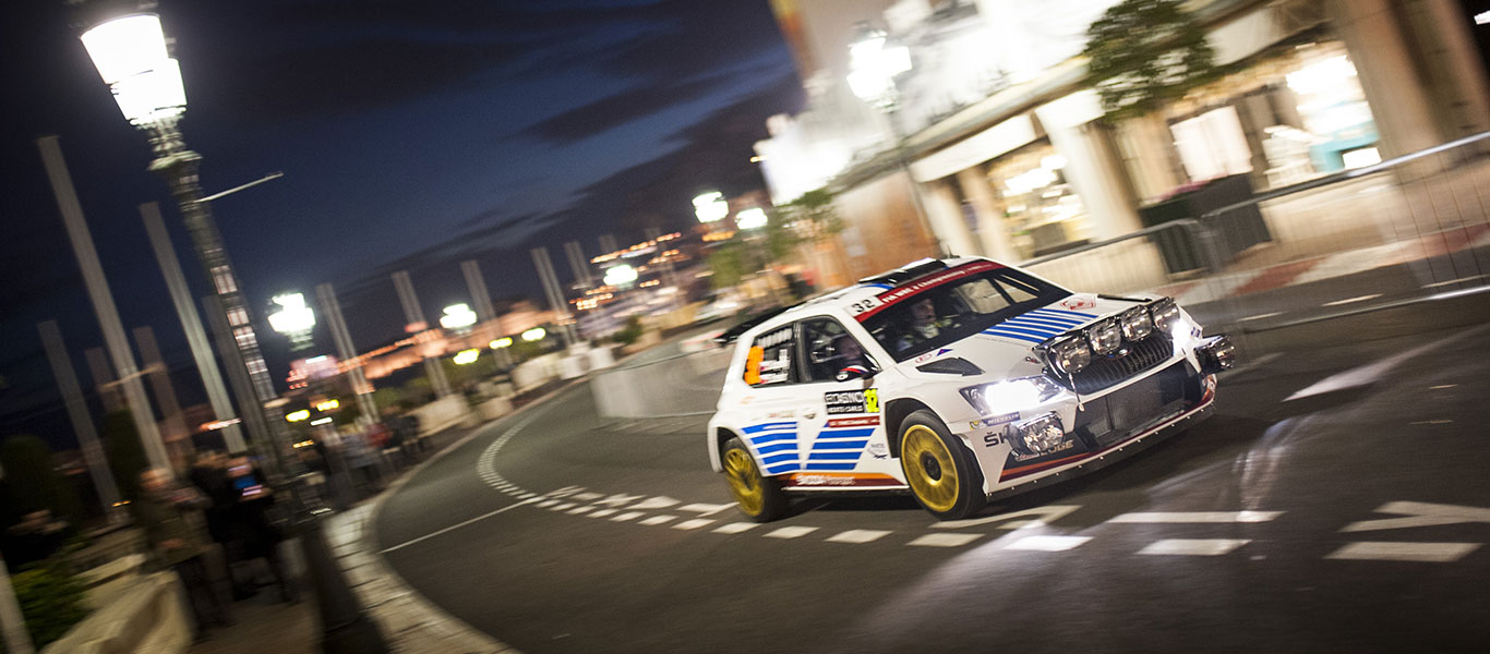 New look ŠKODA line-up sweeps into Monte Carlo