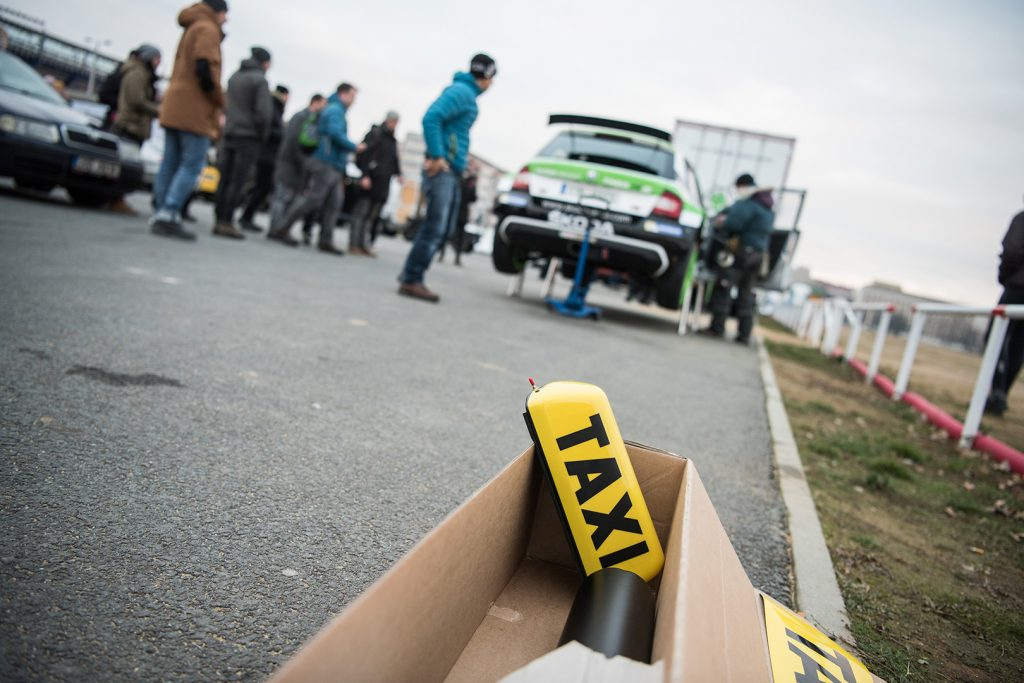 Making of ŠKODA FABIA R5 Taxi 2017