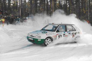 Emil Triner / Pavel Štanc, ŠKODA FELICIA KIT CAR, ŠKODA Motorsport. Rally Sweden 1995