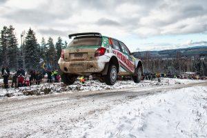 Johan Kristoffersson / Patrik Barth, ŠKODA FABIA S2000, Kristoffersson Motorsport. Rally Sweden 2016