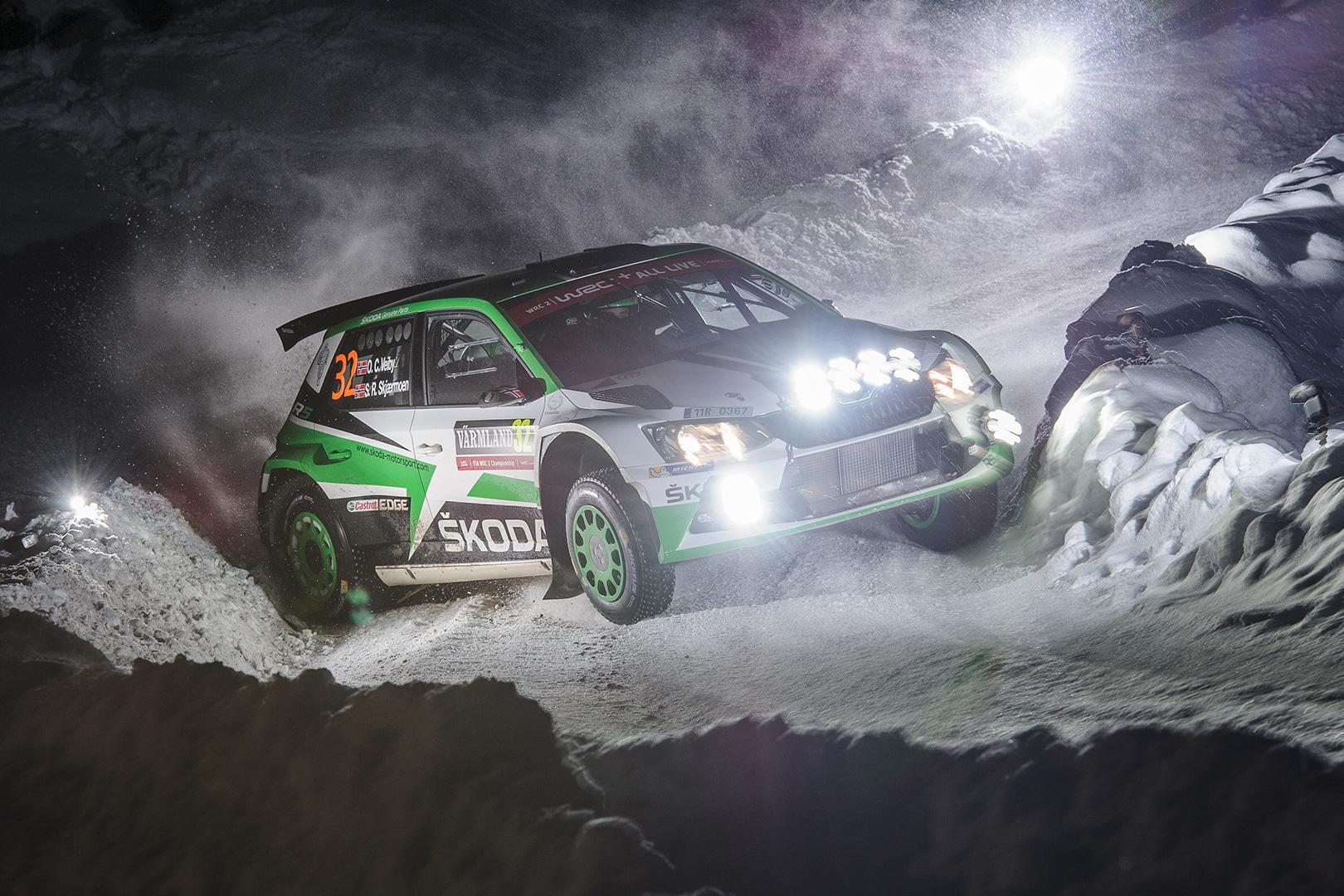 Eerik Pietarinen se na Švédské rallye poprvé představí jako jezdec ŠKODA Motorsport