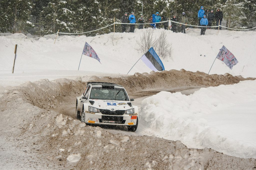 Mattias Jirvelius / Erik Gustavsson, ŠKODA FABIA R5. Rally Sweden 2018