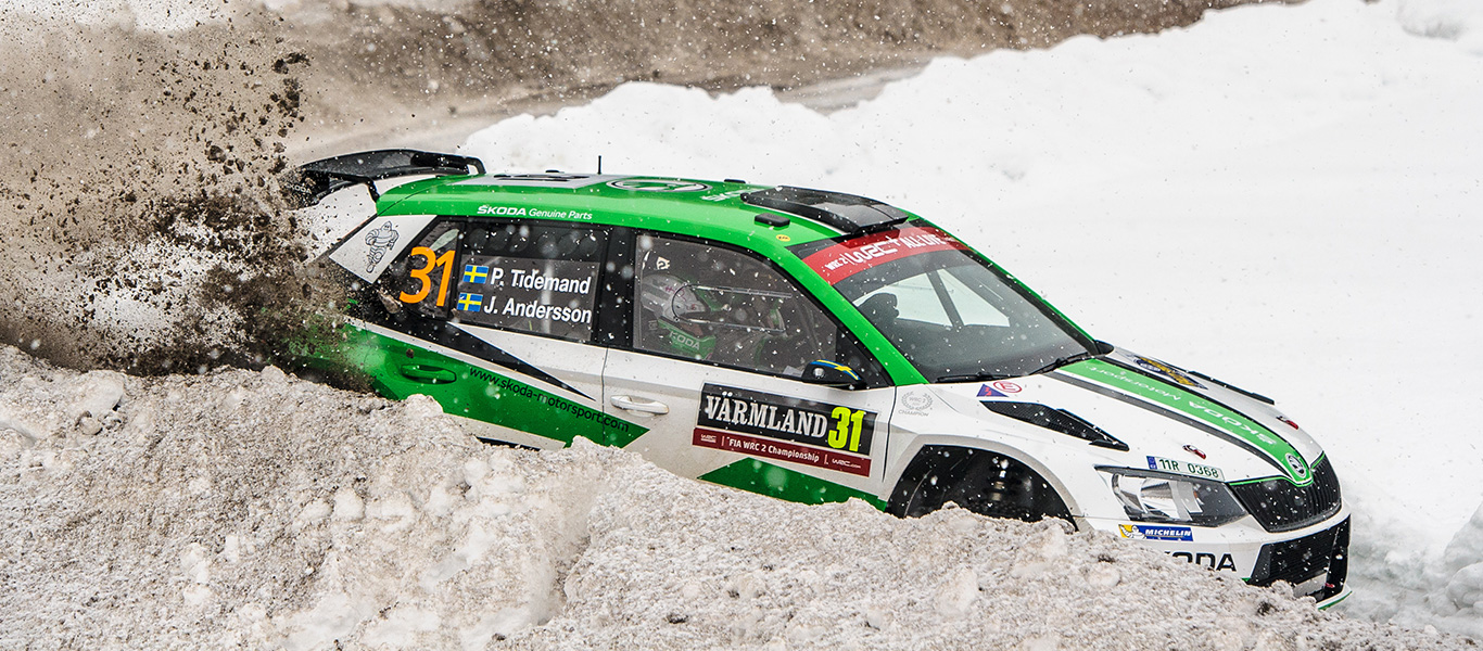 WRC Sweden: Tidemand starts the title defense with a second place on his home soil