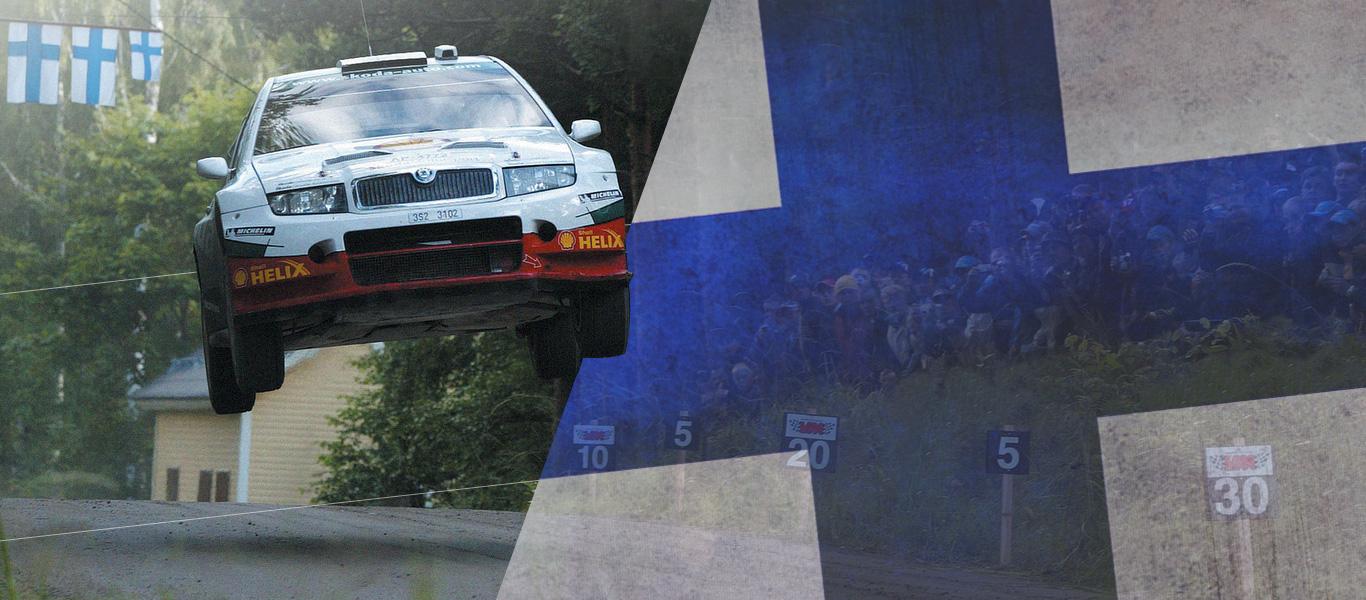 Kalle Rovanperä joins the ranks of ŠKODA Motorsport's flying Finns