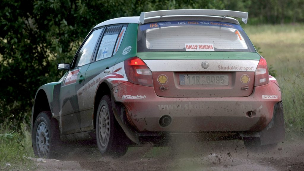 Juho Hänninen / Mikko Markkula, ŠKODA FABIA S2000, ŠKODA Motorsport. Rally Russia 2009