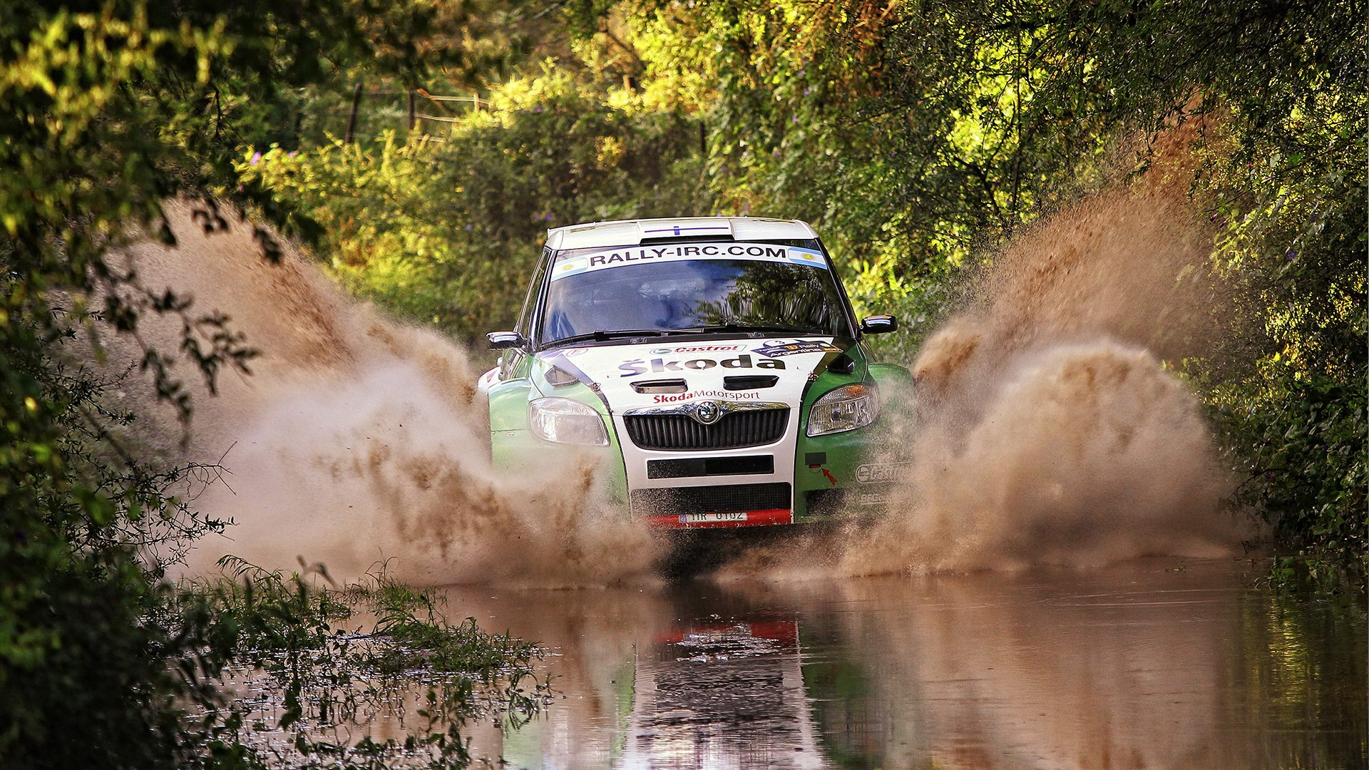 Water, Sand and Crowds: Rally Argentina