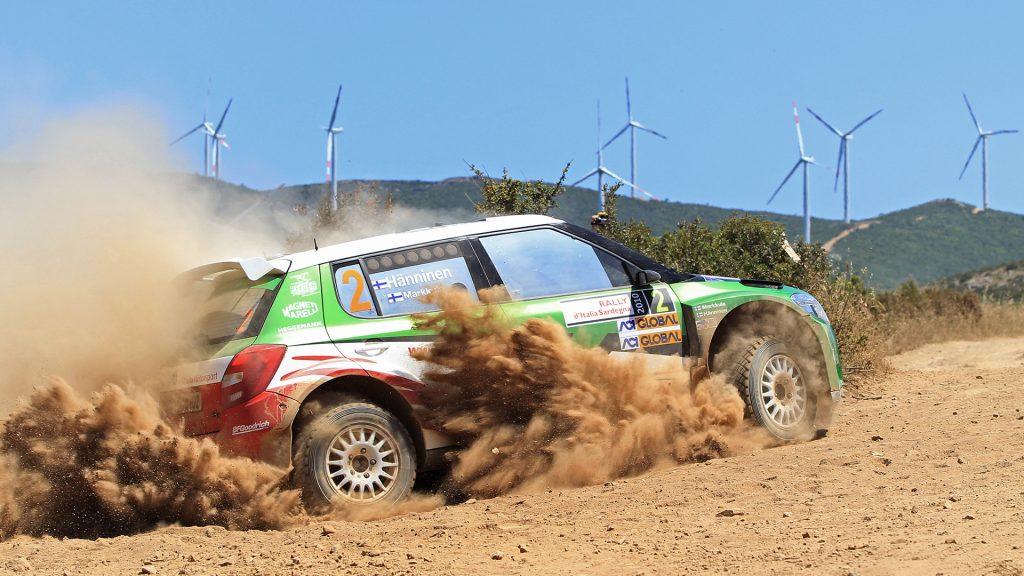 Juho Hänninen / Mikko Markkula, ŠKODA FABIA S2000, ŠKODA Motorsport. Rally Italia Sardegna 2010