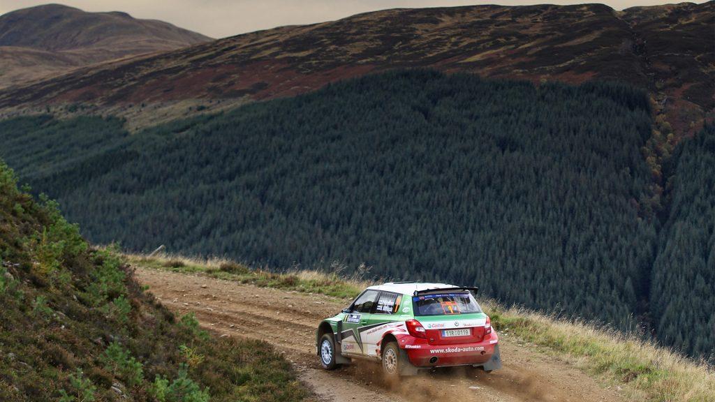 Juho Hänninen / Mikko Markkula, ŠKODA FABIA S2000, ŠKODA Motorsport. Rally Scotland 2010