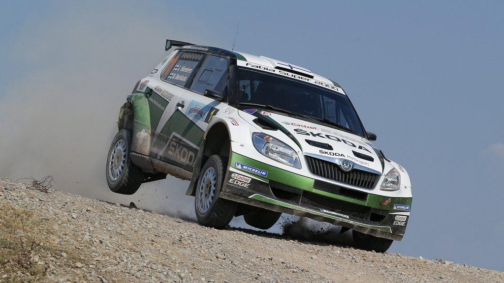 Juho Hänninen / Mikko Markkula, ŠKODA FABIA S2000, ŠKODA Motorsport. Bosphorus Rally 2012