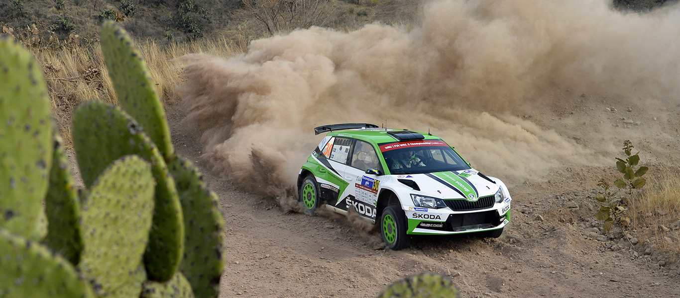 Up in the Mountains, Rally Mexico Begins