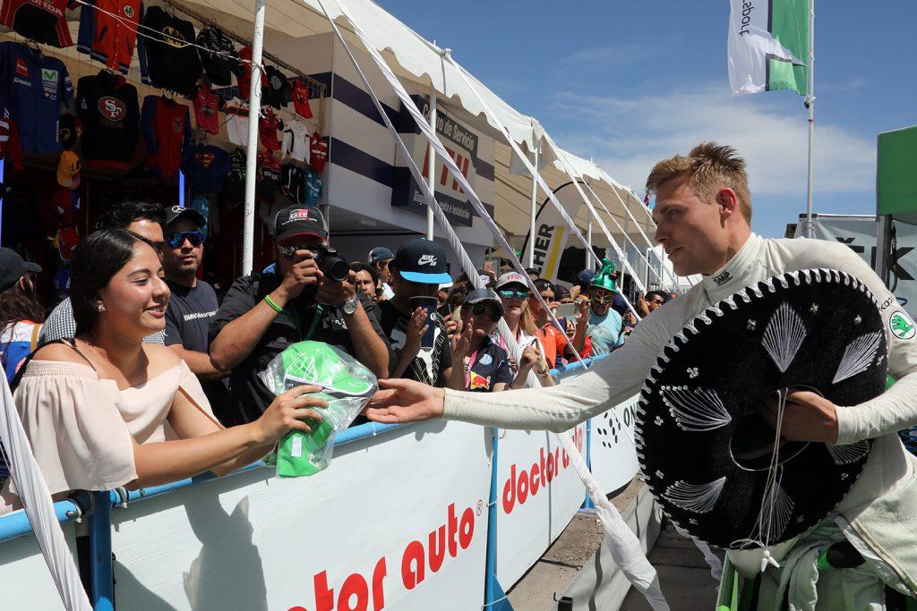 Pontus Tidemand, ŠKODA FABIA R5, ŠKODA Motorsport. Rally Guanajuato Mexico 2018