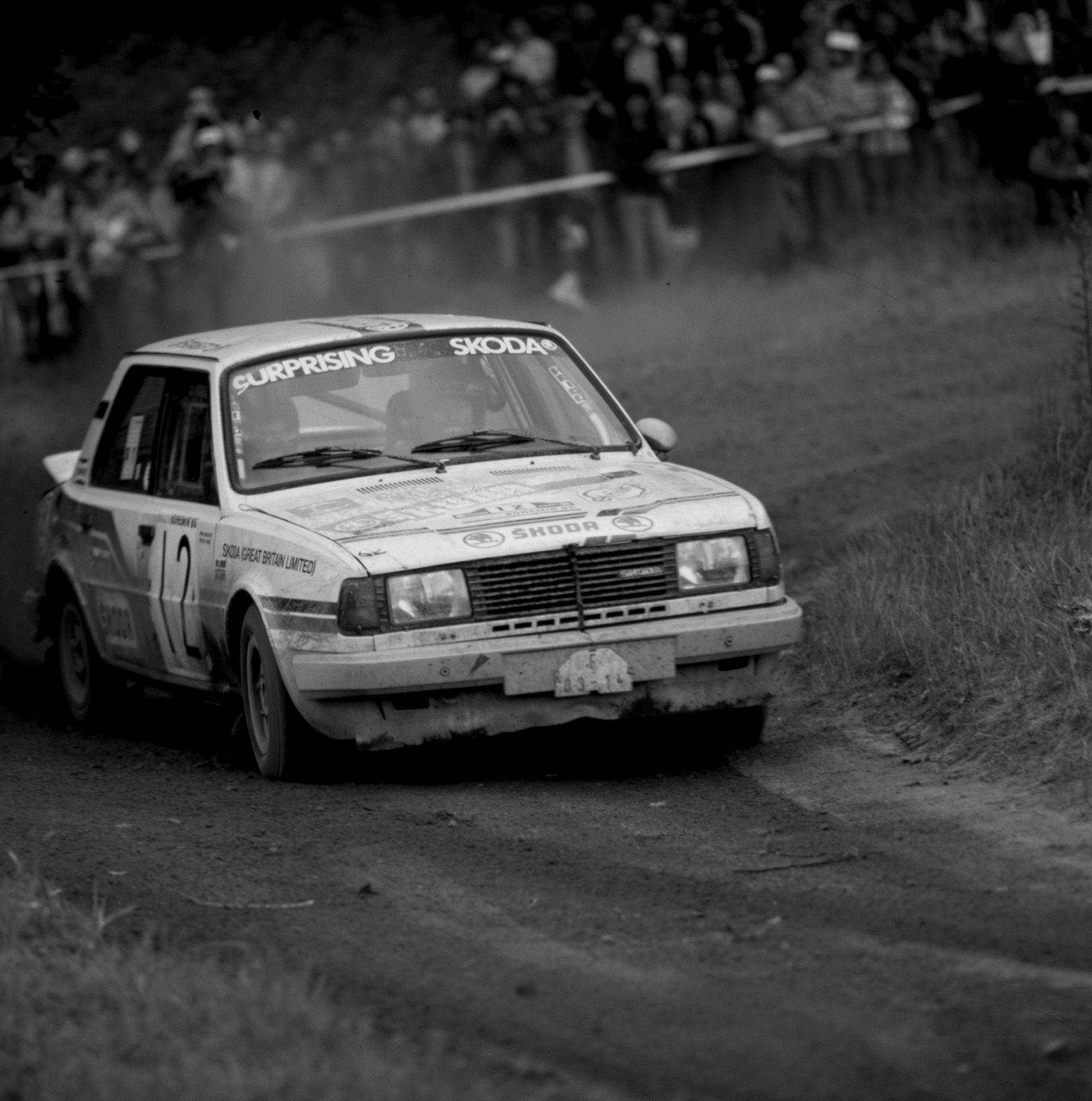 The Last of the Rear Engined Racers: Škoda 130 LR Group B Rally Car
