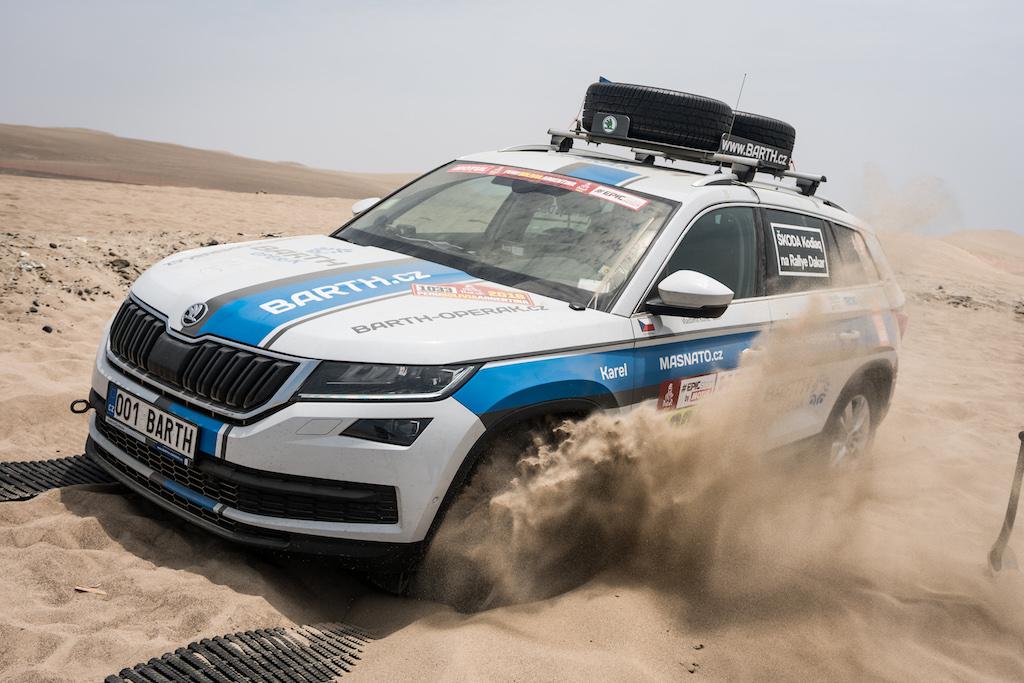 First ŠKODA at Dakar Rally: From Peru to Argentina With a KODIAQ
