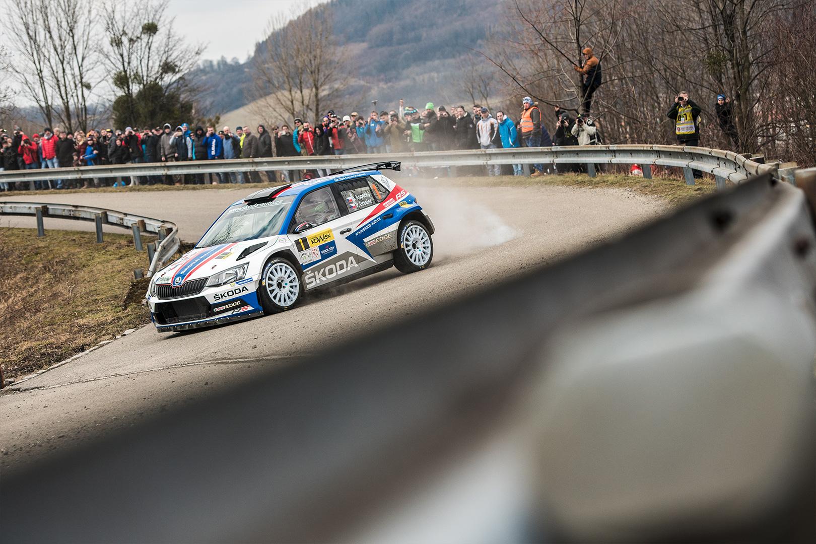 Rallye Šumava Starts Tommorrow: Kopecký to Defend the Lead