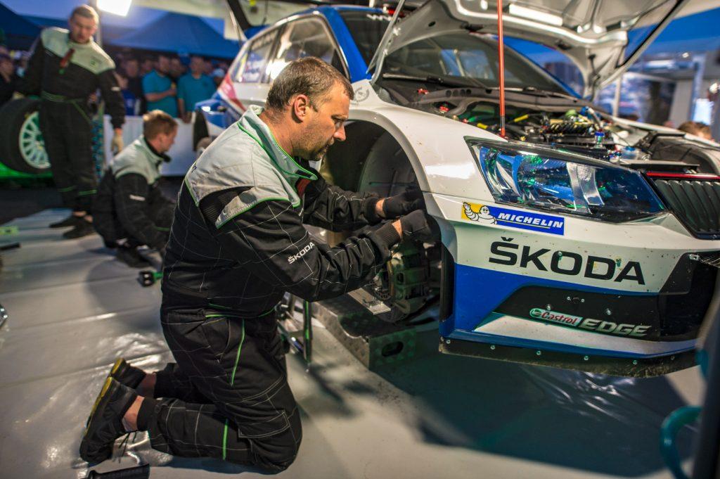 Jan Kopecký / Pavel Dresler, ŠKODA FABIA R5, ŠKODA Motorsport. Rallye Šumava Klatovy 2018