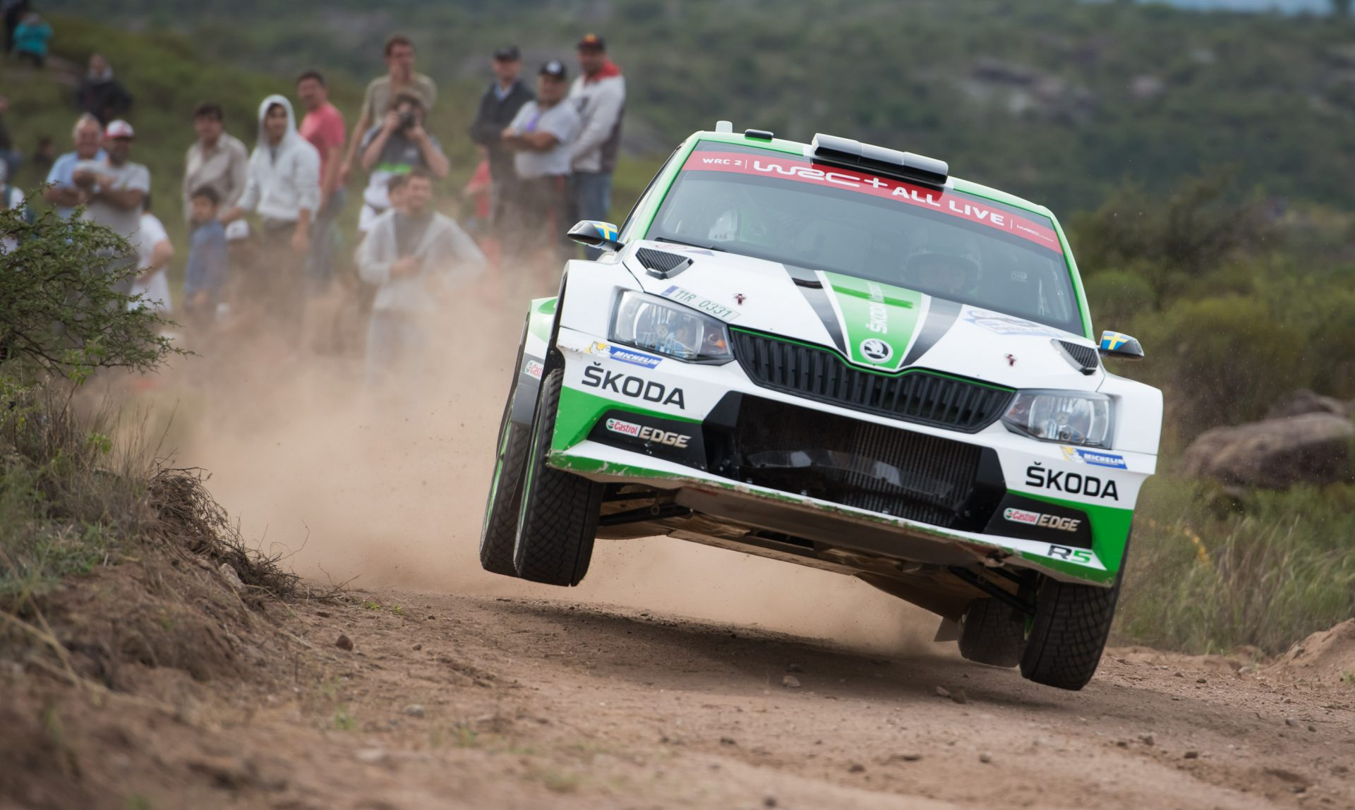 Rally Argentina: FABIA R5s Score First Two Places in Shakedown