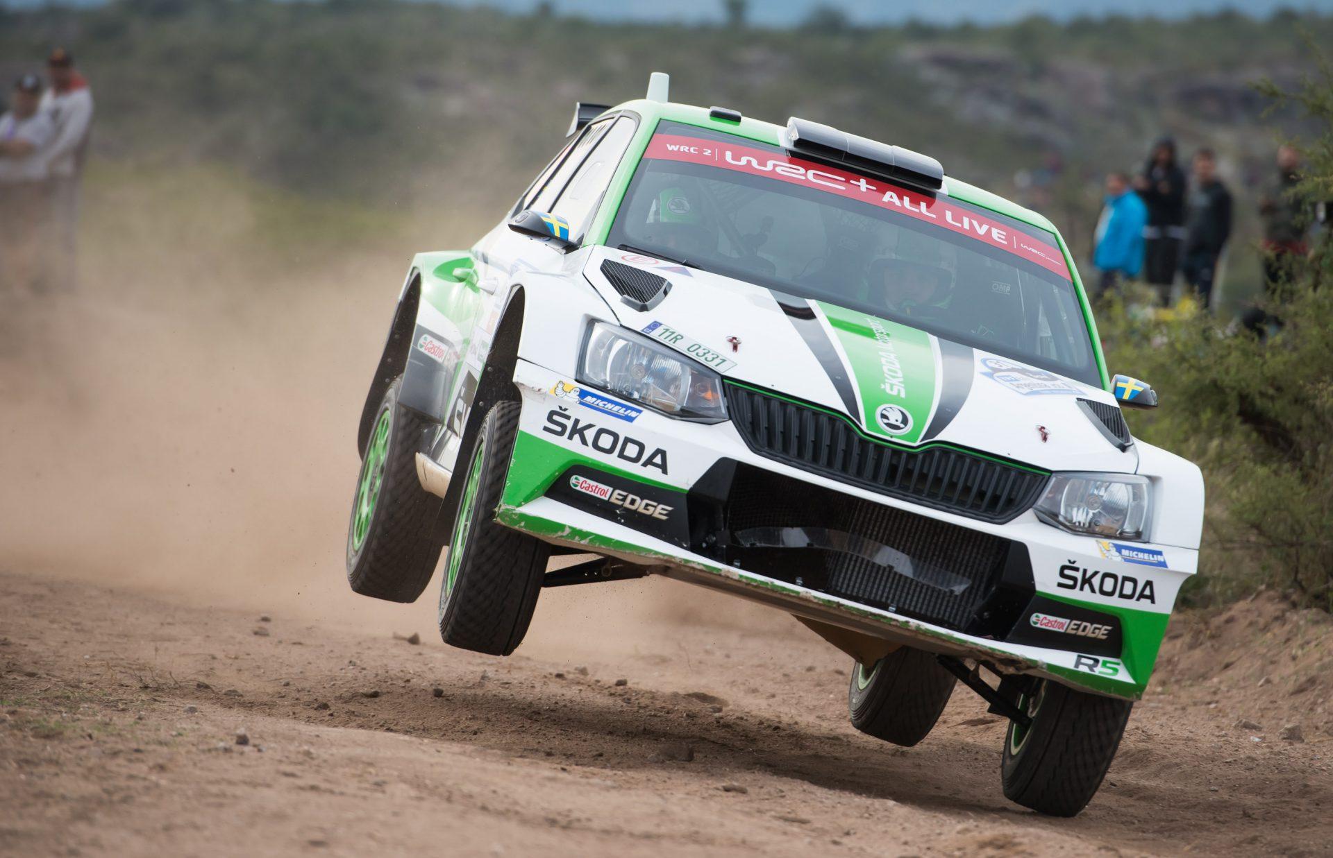Rally Argentina: Vozy ŠKODA na prvních dvou místech shakedownu!