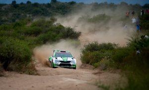 Kalle Rovanperä / Jonne Halttunen, ŠKODA FABIA R5, ŠKODA Motorsport. Rally Argentina 2018