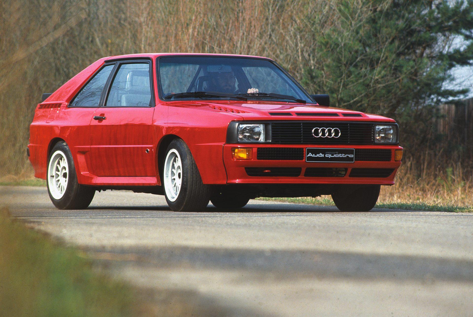 Audi Sport Quattro: Silniční rallyové monstrum | Úžasná auta na prodej
